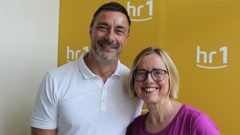 Marco Schreyl und Ursula Ott