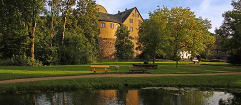 Burgjoß, Ortsteil von Joßgrund an der Jossa im Spessart.