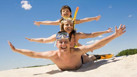 Gerade im Sommerurlaub gilt: Einfach mal wieder Kind sein.