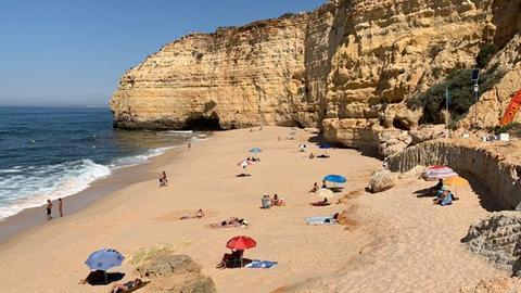 Strandregeln an der portugiesischen Algarve