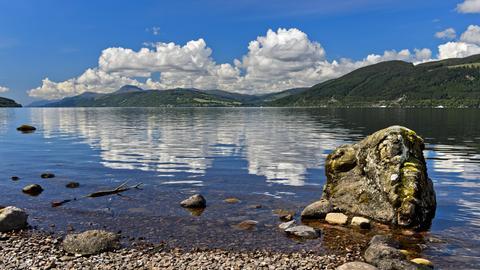 Nessie und Loch Ness