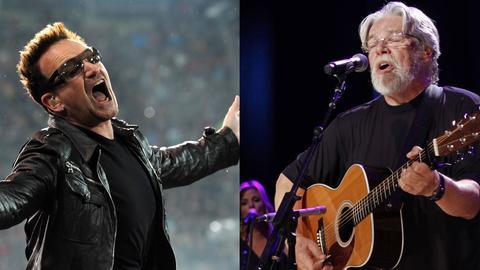 Bono von U2, Bob Seger