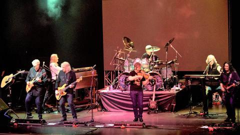 Die Rockband Kansas auf der Bühne