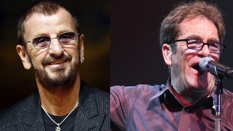 Ringo Starr (li.) und Huey Lewis