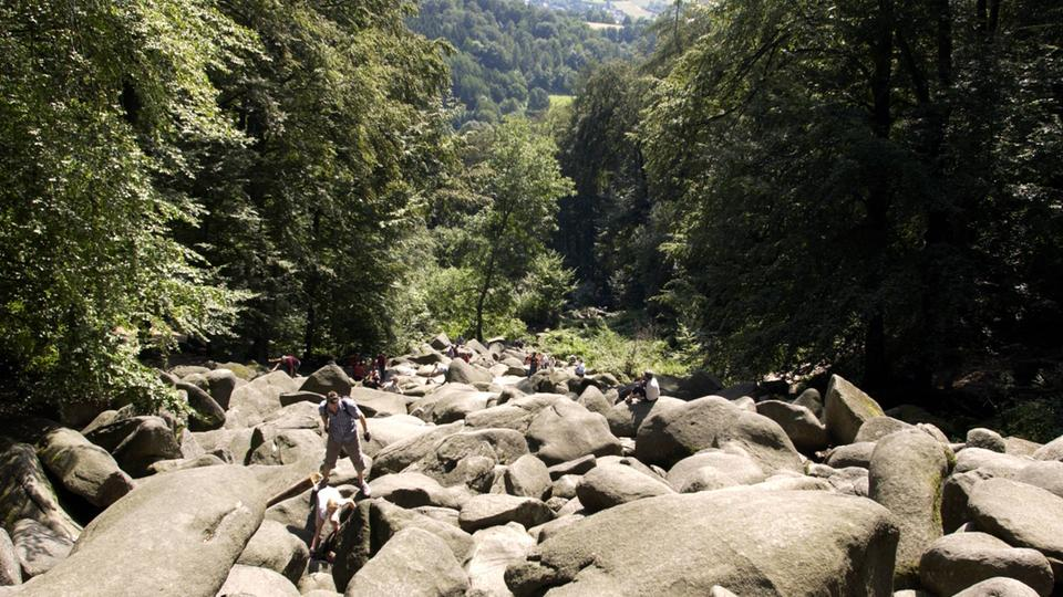 Mikroabenteuer Hessen Klettern Odenwälder Felsenmeer