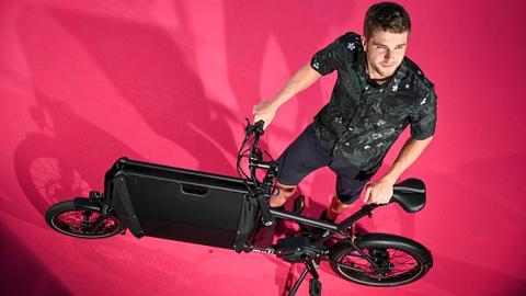 Das Lastenrad der Muli-Cycles GmbH