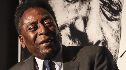 Fußballstar Pelé