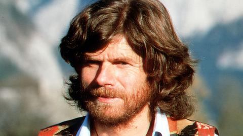 Junger Reinhold Messner