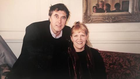 Bryan Ferry mit Lidia Antonini