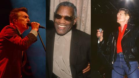 Bryan Ferry, Ray Charles und Jerry Lee Lewis