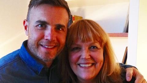 Gary Barlow und Lidia Antonini