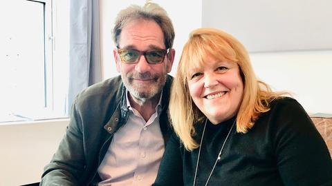 Huey Lewis und Lidia Antonini