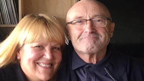 Lidia Antonini und Phil Collins.