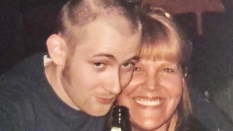 Simon Collins, Sohn von Phil Collins, mit Lidia Antonini.