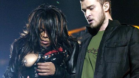 Janet Jackson und Justin Timerlake