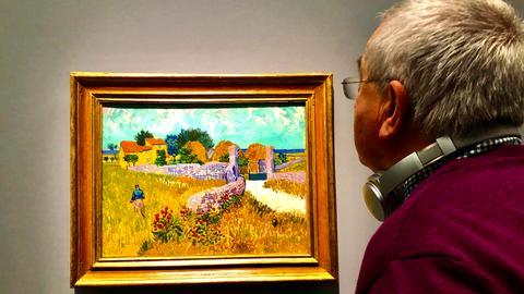Werner Reinke, Van-Gogh-Ausstellung