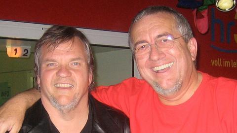 Werner Reinke mit Meat Loaf
