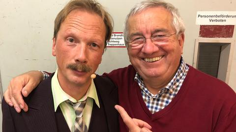Pawel Popolski mit Werner Reinke