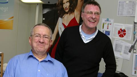 Werner Reinke und Steve Harley