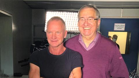 Sting und Werner Reinke