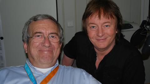 Werner Reinke mit Chris Norman