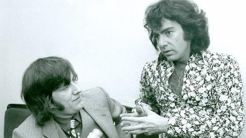 Werner Reinke und Neil Diamond