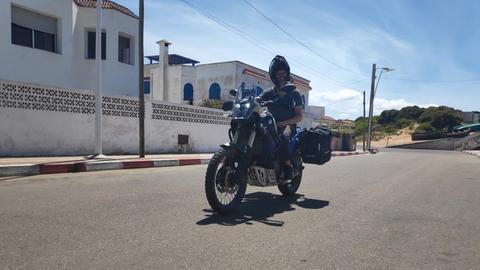 Patrick Rutishauser in Marokko