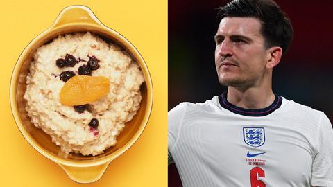 Porridge und Englandtrikot