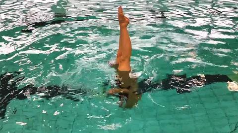 Simone Olympia Synchronschwimmen