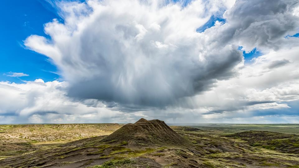 Die stillsten Orte der Welt: Grasslands National Park Kanada