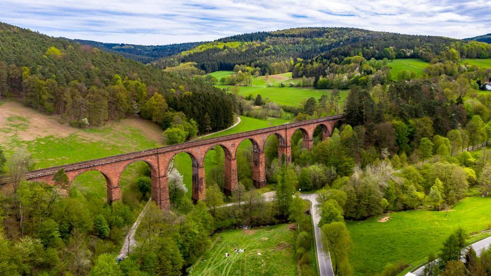 Das Viadukt bei Hetzberg