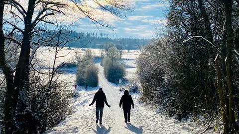 Winterwanderung Taunus