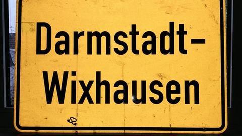 Wixhausen Ortsschild